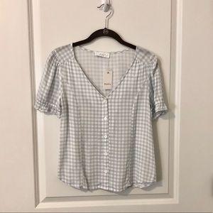 Elodie button down blouse